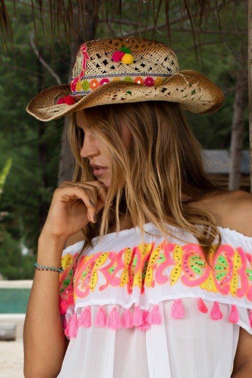 chapeau cowboyhoed Miss June webshop senses.style boetiek