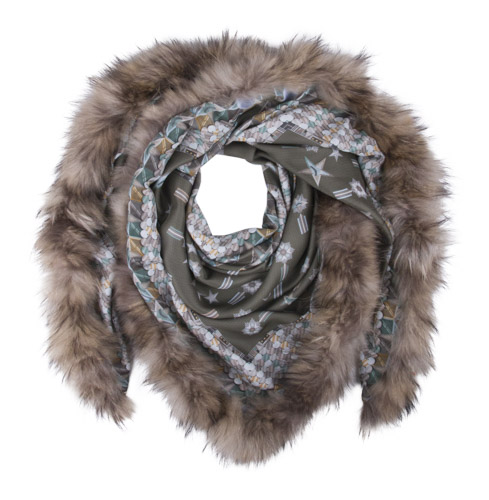Mucho_Gusto_Sjaal_Scarf AUCKLAND FUR_S72AUF068