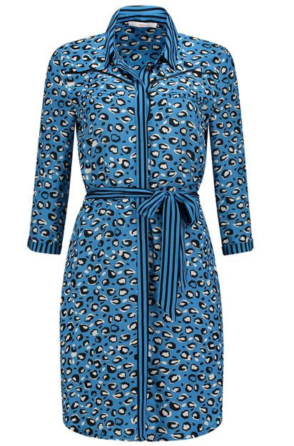 kleedje van het merk Aaiko Aima Stripe te koop bij Senses.Style