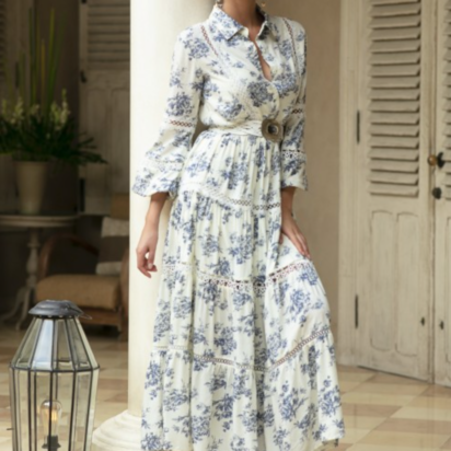 zomerkleedje met print